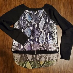DVF Hilo Sweater Blouse zs S